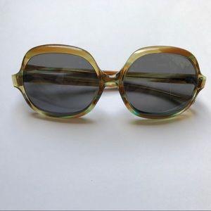 Vintage AO Tortoise Large Frame Sunglasses